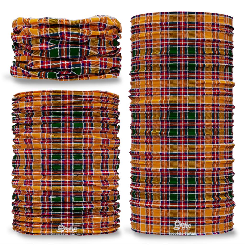 Jacobite Tartan Scottish Scotland Seamless Tube Bandana Snood Multifunctional multiwrap Giraffe headwear