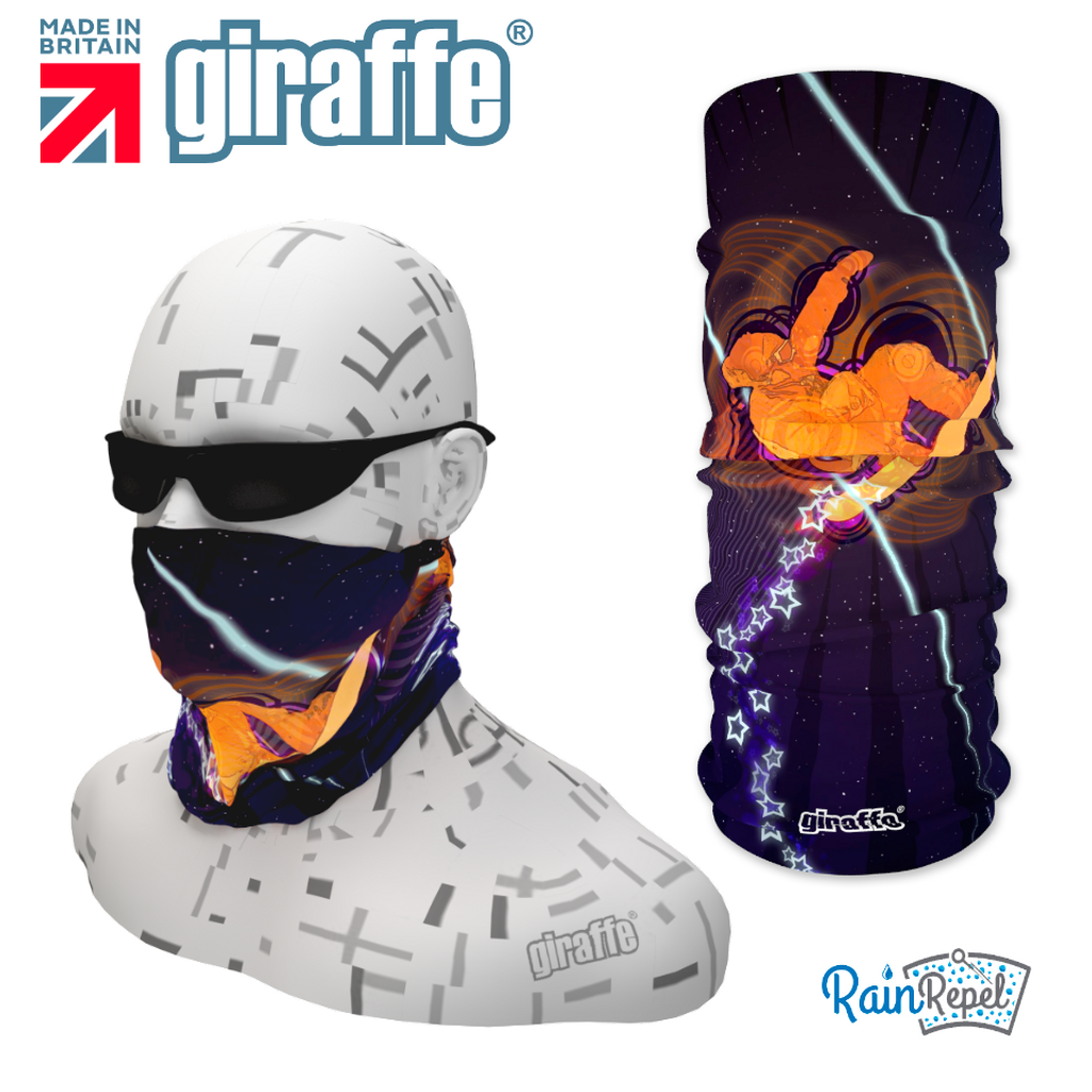 G386 Retro Snowboard Mountain Ski  Tube Bandana