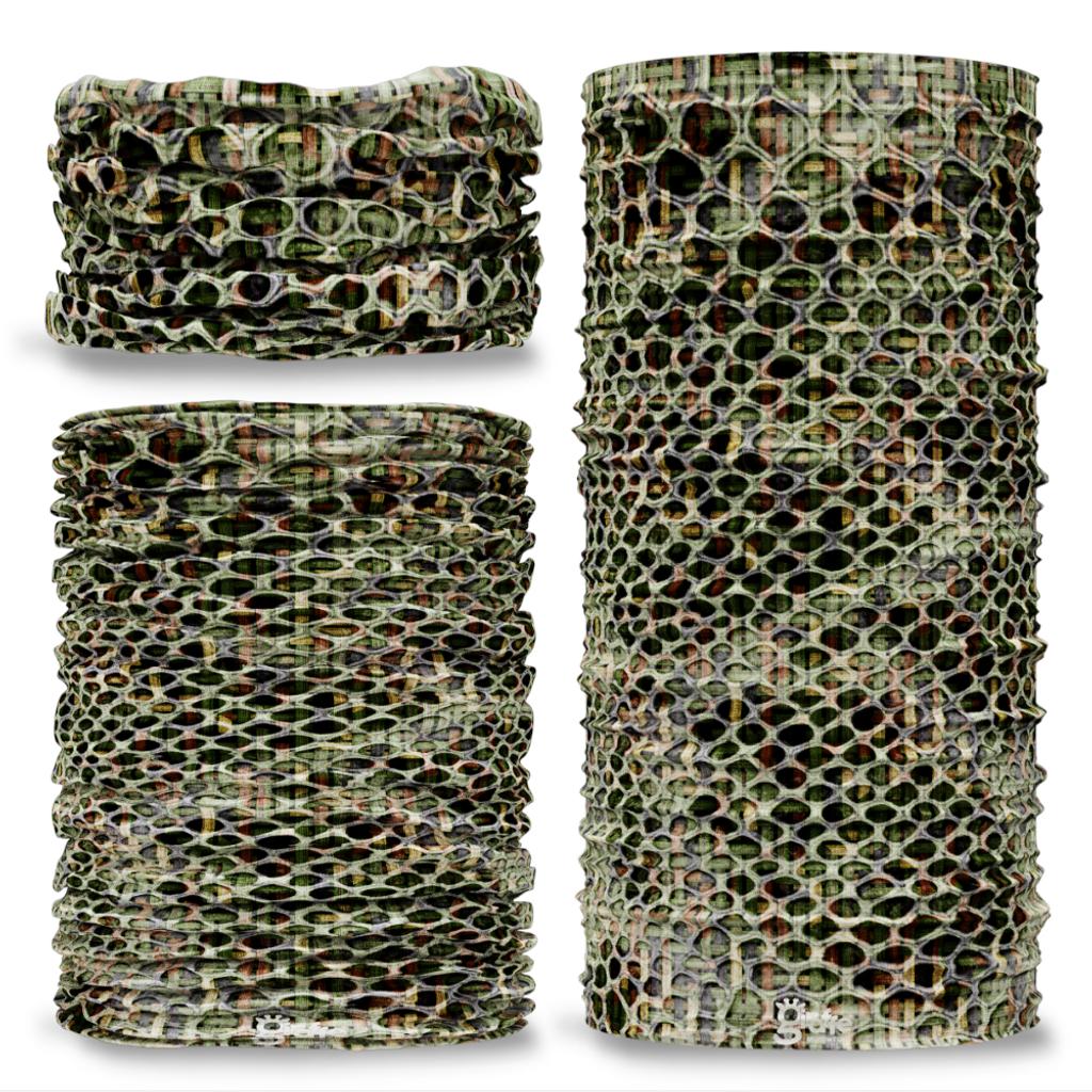 G-536 Snake skin Camouflage Camo Seamless Tube Bandana Snood Multifunctional multiwrap Giraffe headwear