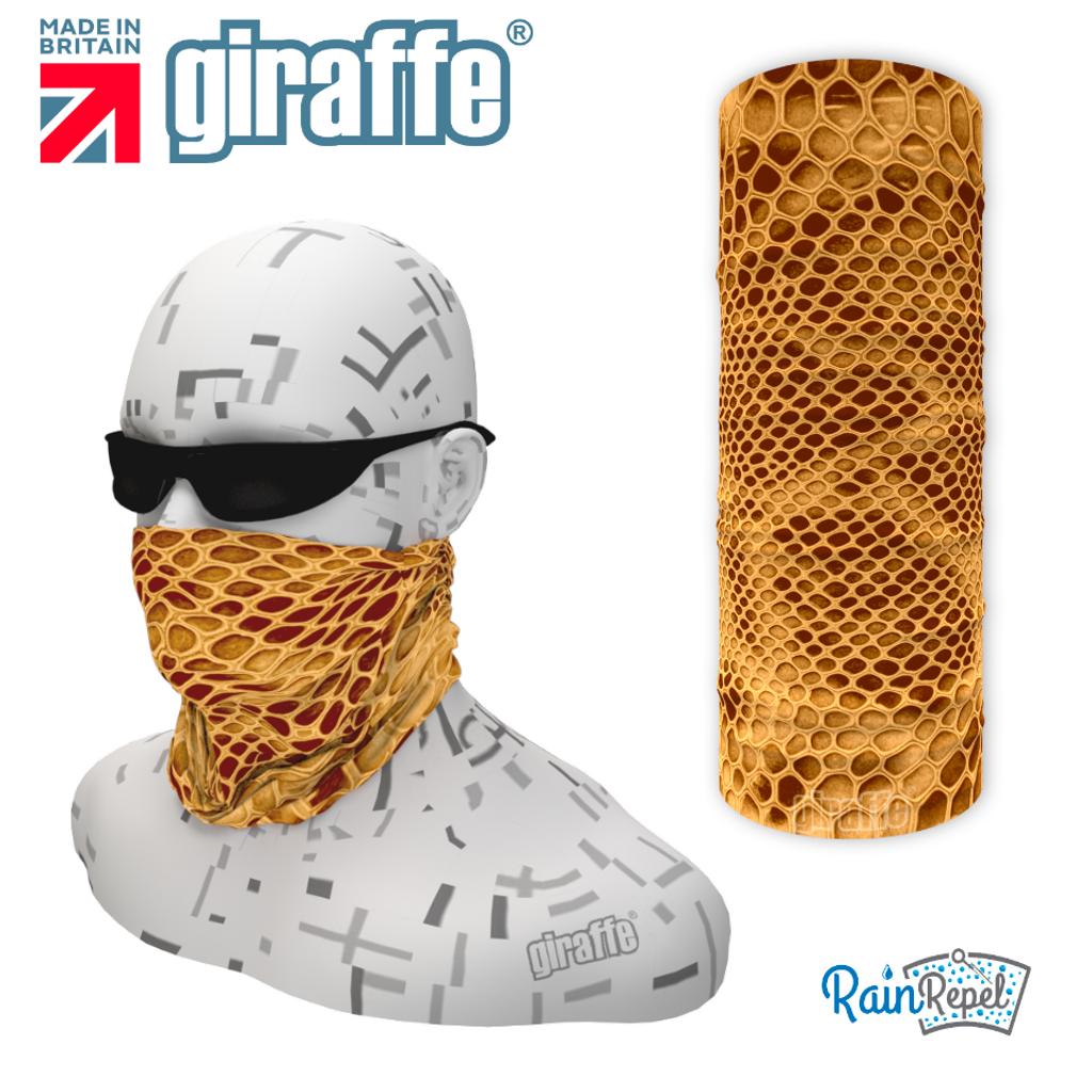 G537 Snake skin Sand Camo Multi-functional Tube Bandana