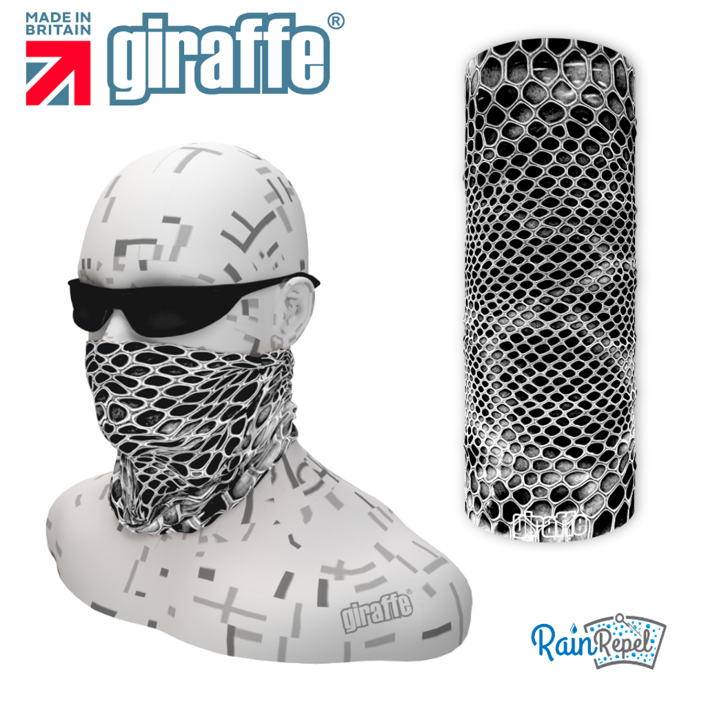 G538 Snake skin Mono Camo Multi-functional Tube Bandana