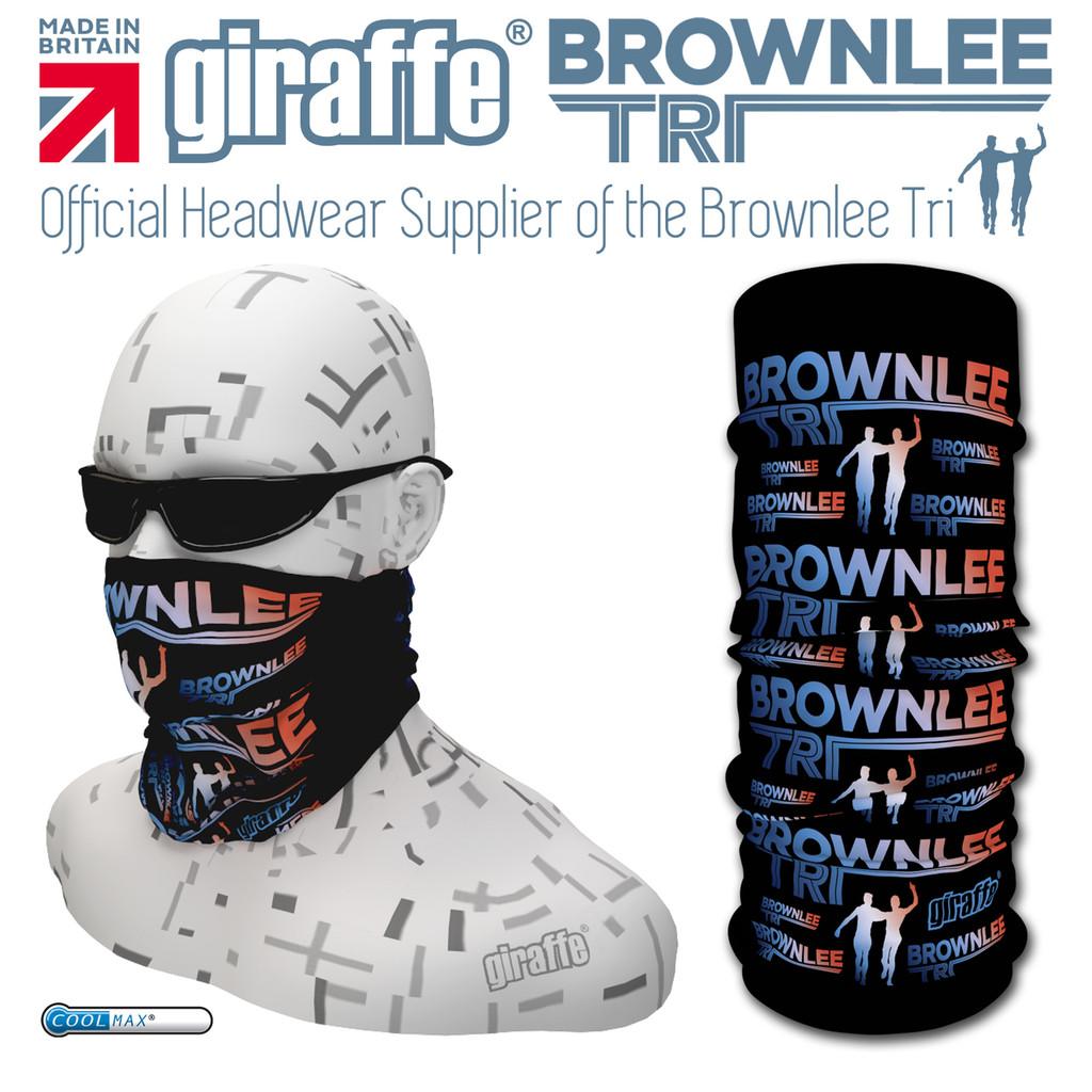 Brownlee Brothers Triathlon Black/Colour  Multi-functional Tube Bandana