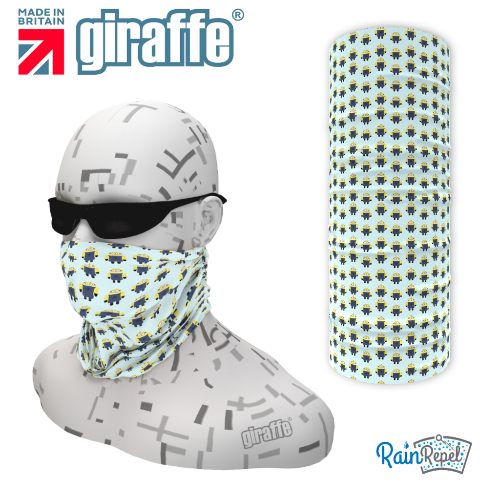 G563 Minion Mini repeat  Multi-functional Tube Bandana