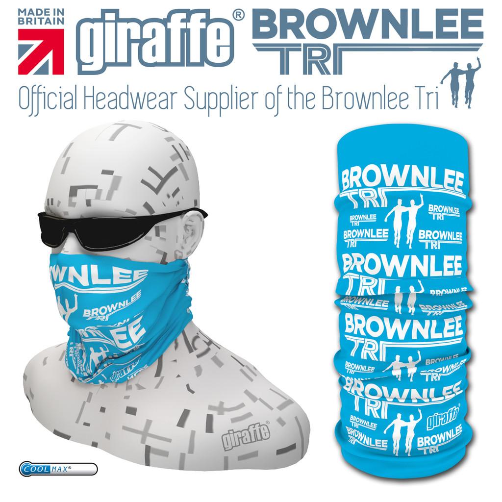 Brownlee Brothers Triathlon Blue Multi-functional Tube Bandana
