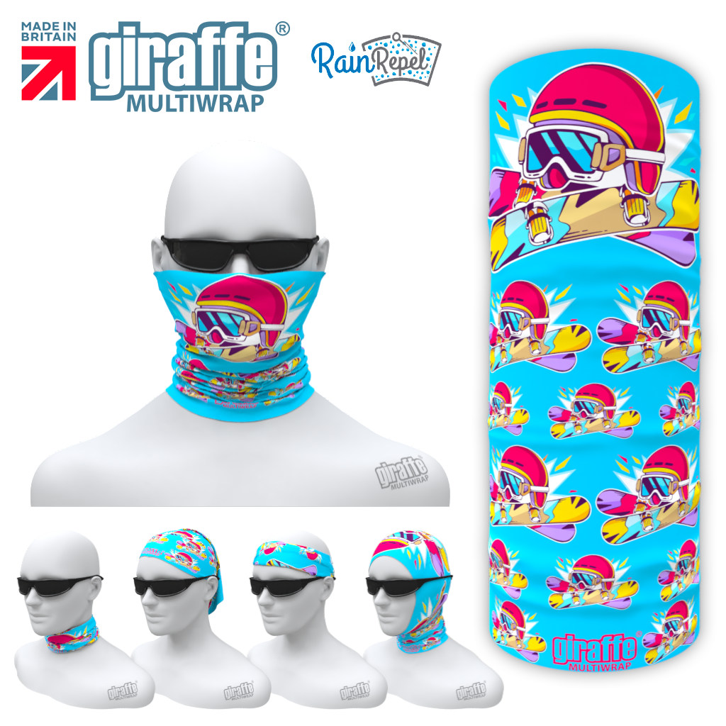 G-602 Ski Goggles Face Mask Tube  Bandana