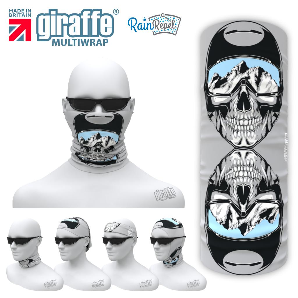 G-605Ski Skull  Face Mask Tube  Bandana