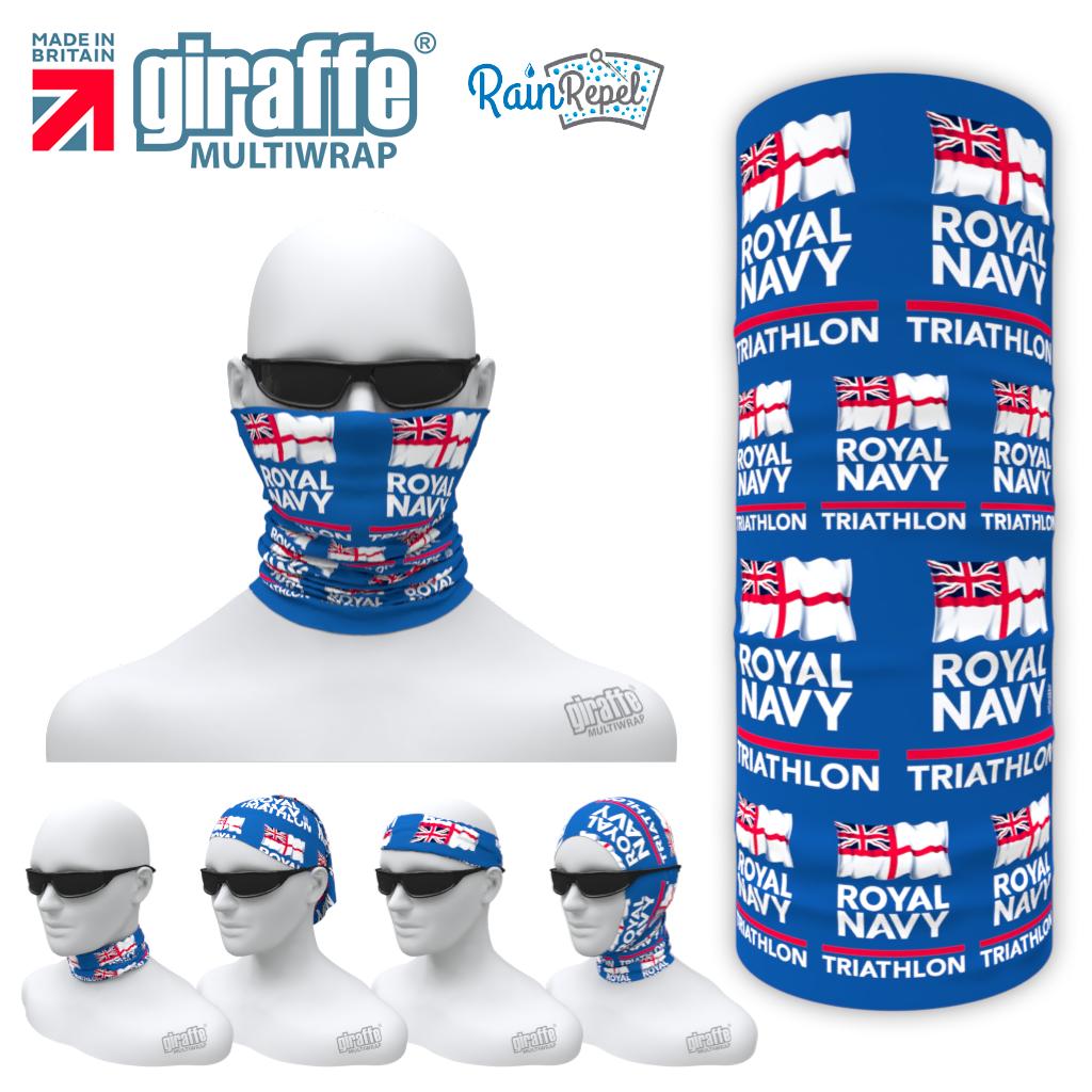 Royal Navy Triathlon V2 -   Multi-functional Bandana