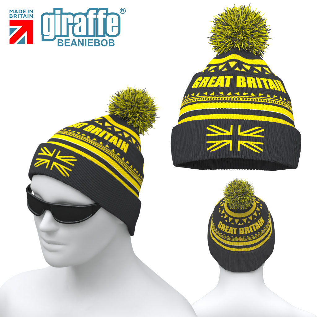 Great Britain GBR Bobble Hat