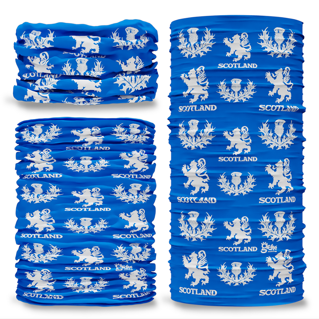 G-623 Scotland Thistle Flag Seamless Tube Bandana Snood Multifunctional multiwrap Giraffe headwear