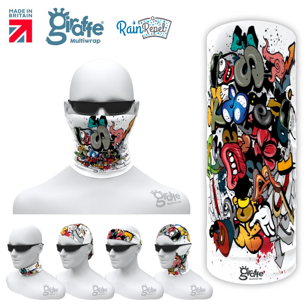 G-657 Street Art Graffiti  Mask Tube  Bandana
