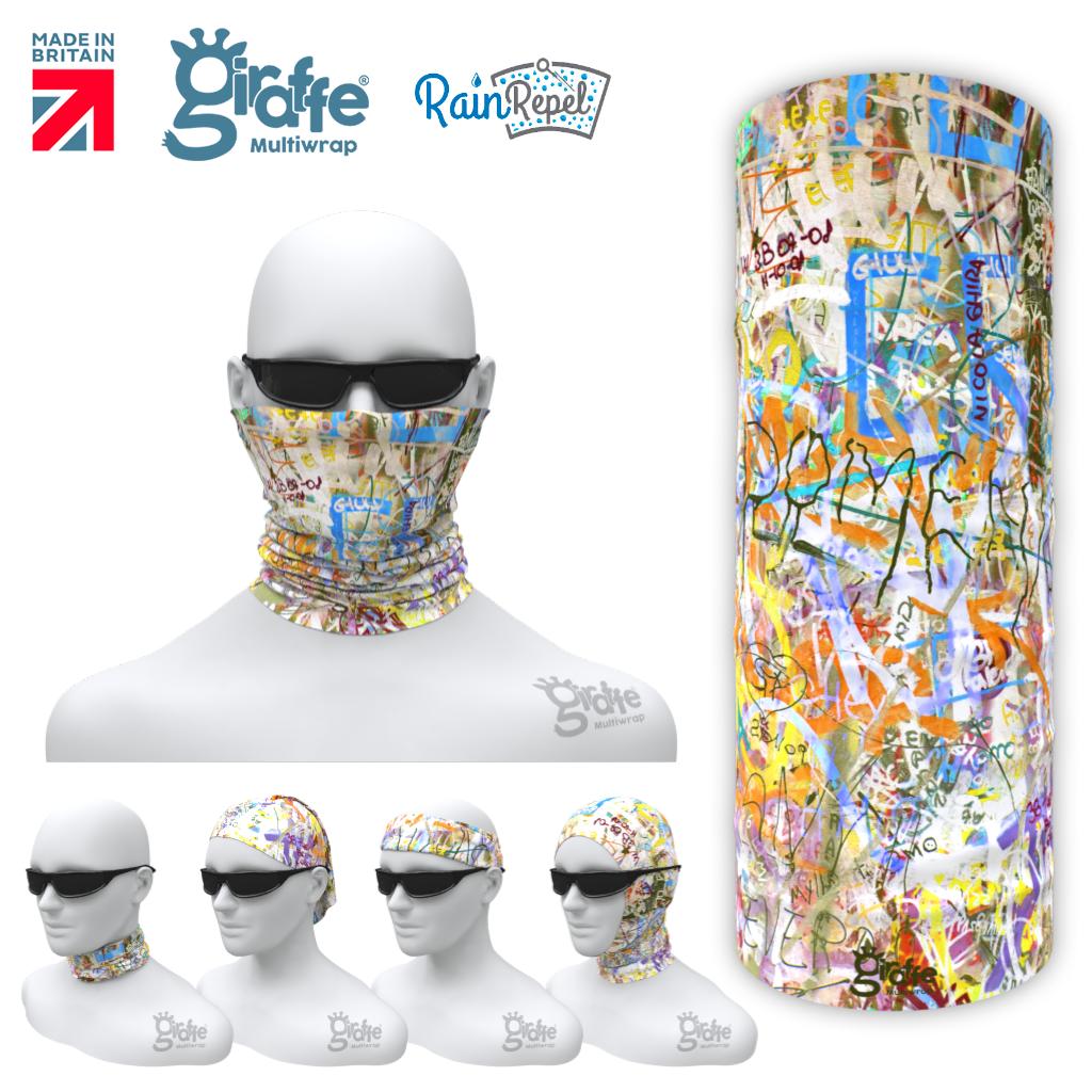 G-661 Street Art Graffiti  Mask Tube  Bandana