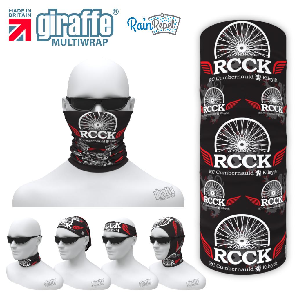 RCCK Black/Red  Multi-functional Bandan