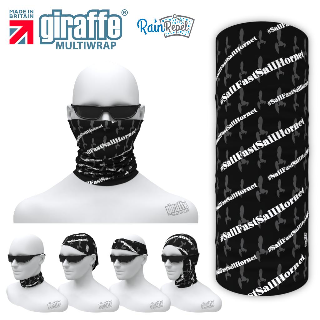 Hornets - Black/White  Multi-functional Bandana