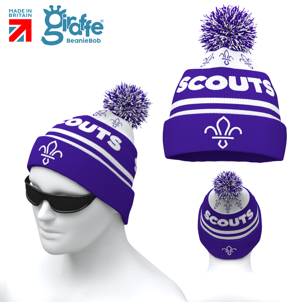Scout Purple -  Bobble Hat LIMITED STOCK