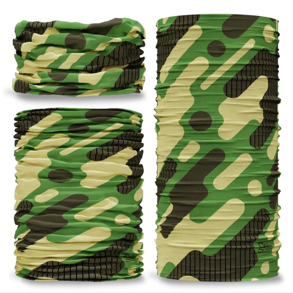 G-681 Urban Future Camouflage Camo Seamless Tube Bandana Snood Multifunctional multiwrap Giraffe headwear