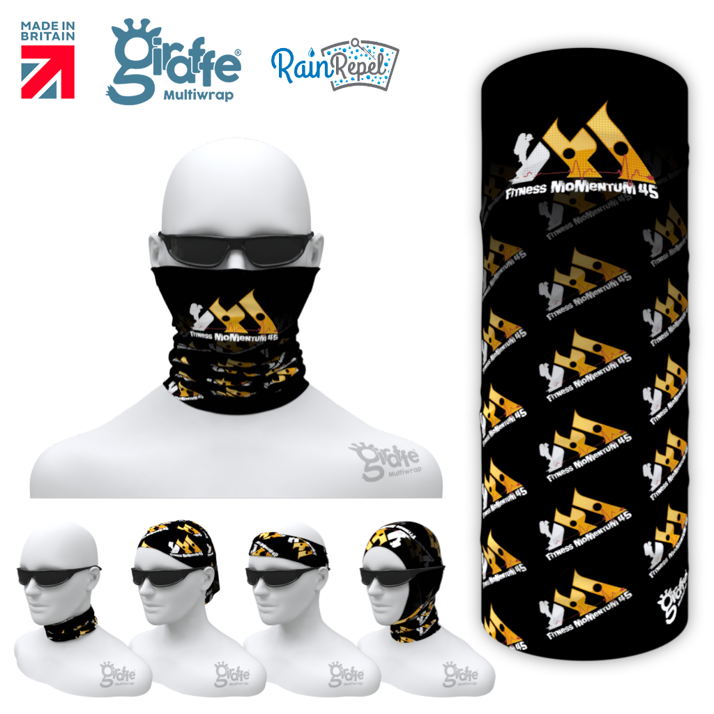 Fitness Momentum 45 Multifunctional Headwear Tube  Bandana