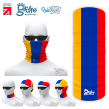Armenia National Flag Bandana Multi-functional Headwear Tube scarf