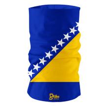 Bosnia Herzegovina  National Flag Bandana Multi-functional Headwear Tube scarf