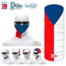 Czech National Flag Bandana Multi-functional Headwear Tube scarf
