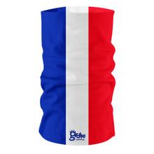 France French National Flag Bandana Multi-functional Headwear Tube scarf