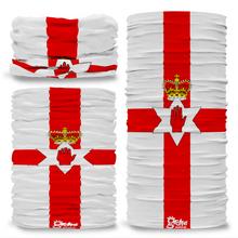 Northern Ireland National Flag Seamless Tube Bandana Snood Multifunctional multiwrap Giraffe headwear