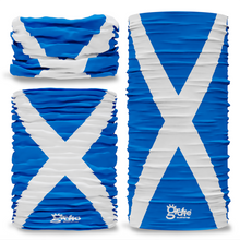 Scotland Scottish National Flag Seamless Tube Bandana Snood Multifunctional multiwrap Giraffe headwear