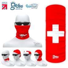 Switzerland Swiss National Flag Bandana Multi-functional Headgear Tube scarf