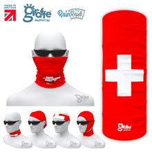 Switzerland Swiss National Flag Bandana Multi-functional Headgear Tube scarf