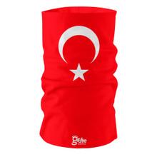 Turkey Turkish National Flag Bandana Multi-functional Headgear Tube scarf