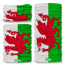 Wales Welsh National Flag Seamless Tube Bandana Snood Multifunctional multiwrap Giraffe headwear