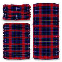 Highland Titles Tartan Scottish Scotland Seamless Tube Bandana Snood Multifunctional multiwrap Giraffe headwear