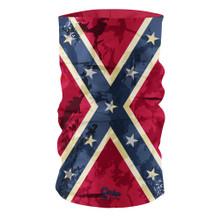 Vintage Confederate States of USA Flag Bandana Multi-functional Headgear Tube scarf G-711