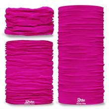 G-714 Barbie Pink Pantone Seamless Tube Bandana Snood Multifunctional multiwrap Giraffe headwear