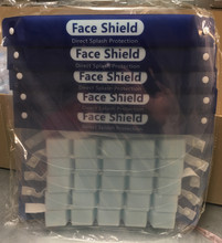 Face protection cover anti fog protection against airborne droplets pack of 10 + FREE BUFF