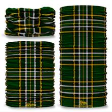 Irish National Tartan Seamless Tube Bandana Snood Multifunctional multiwrap Giraffe headwear