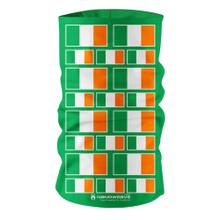 Nano Weave Ireland Irish National Flag Multi-functional face protection. Seamless Tube Bandana