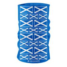Nano Weave Scotland Scottish National Flag Multi-functional face protection. Seamless Tube Bandana