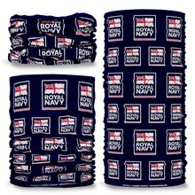 MOD British Royal Navy Logo Blue Multi-functional bandana headwear multiwrap snood