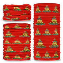MOD Royal Artillery British Army Red Multifunctional bandana headwear multiwrap snood