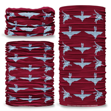 MOD Parachute Regiment Pegasus Red British Army  Multi-functional bandana headwear multiwrap snood