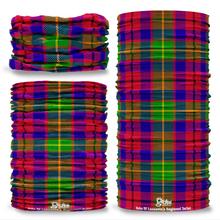 Duke Of Lancaster's Regiment Tartan Seamless Tube Bandana Snood Multifunctional multiwrap Giraffe headwear