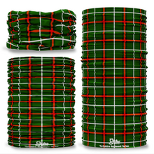 Yorkshire Regiment Tartan Seamless Tube Bandana Snood Multifunctional multiwrap Giraffe headwear