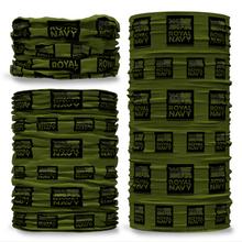 MOD British Royal Navy Camo Green reversible Multi-functional bandana headwear multiwrap snood