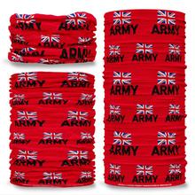 MOD British Army Emblem Red Multifunctional bandana headwear multiwrap snood