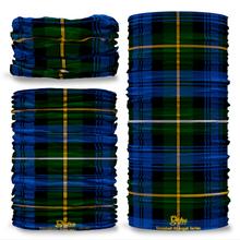 Campbell of Argyll Tartan Scottish Scotland Seamless Tube Bandana Snood Multifunctional multiwrap Giraffe headwear