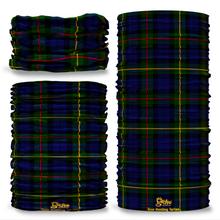 Gow Hunting Tartan Scottish Scotland Seamless Tube Bandana Snood Multifunctional multiwrap Giraffe headwear