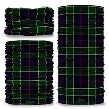 Leslie Hunting Tartan Scottish Scotland Seamless Tube Bandana Snood Multifunctional multiwrap Giraffe headwear