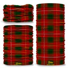 McPhee Tartan Scottish Scotland Seamless Tube Bandana Snood Multifunctional multiwrap Giraffe headwear