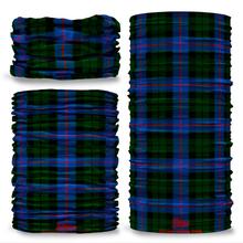 Morrison Hunting Tartan Scottish Scotland Seamless Tube Bandana Snood Multifunctional multiwrap Giraffe headwear