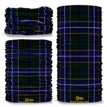 Wishart Hunting Tartan Scottish Scotland Seamless Tube Bandana Snood Multifunctional multiwrap Giraffe headwear